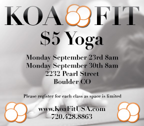 Join us the next 2 Mondays for a 60 Minute Yoga Class
