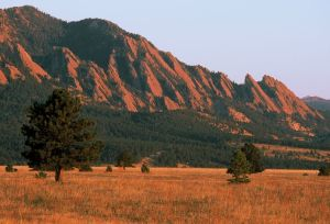 Sunrise Flatirons